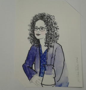 Dibujo de Marta Castillo realizado por Silvia Pereira./Chana Press.