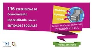 BANCO DE EXPERIENCIAS COLABORATIVAS LA NORIA de Diputación de Málaga